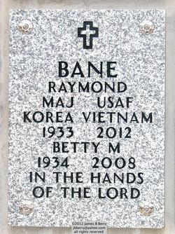 Maj Raymond Bane