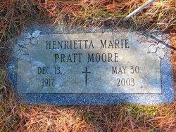Henrietta Marie <I>Pratt</I> Moore