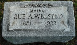 Sue A <I>Hudson</I> Welsted
