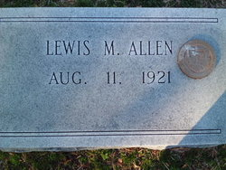 Lewis Meadows Allen