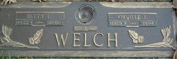 Betty Lucille <I>Wills</I> Welch