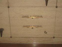 Nannie L. Cochran