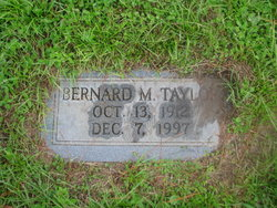 Bernard M Taylor