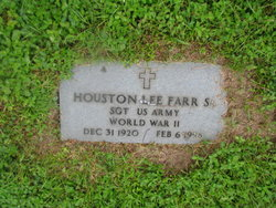 Houston Lee Farr, Sr