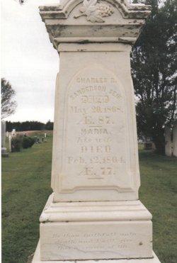 Charles Richard Sanderson, Sr