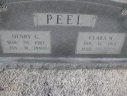 Clara <I>Wallace</I> Peel