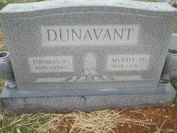 Myrtle H Dunavant