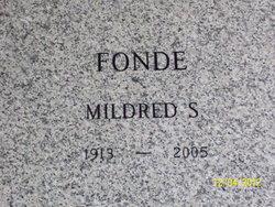 Mildred S. Fonde