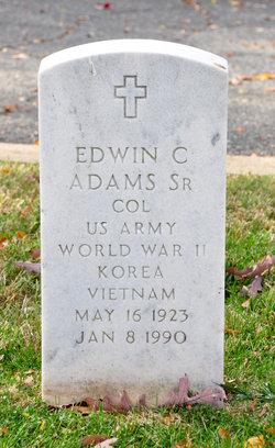 Edwin C Adams, Sr