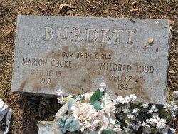 Marion Cocke Burdett