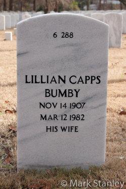 Lillian <I>Capps</I> Bumby