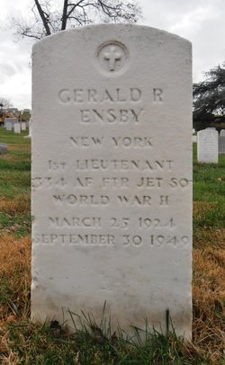 1LT Gerald R Ensby