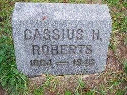 Cassius H Roberts