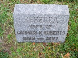 Rebecca Freelove <I>Holloway</I> Roberts