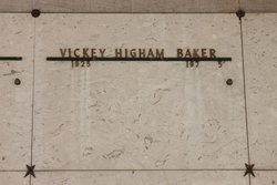 Vickey Delores Higham <I>Santi</I> Baker