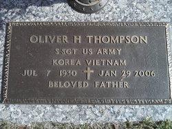 Oliver H Thompson