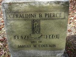 Geraldine B. <I>Pierce</I> Coulson