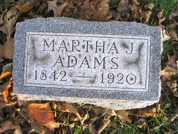 Martha Jane <I>Davis</I> Adams