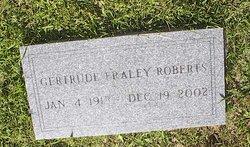 Glena Gertrude <I>Fraley</I> Roberts