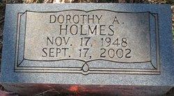Dorothy A Holmes