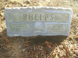 Marietta E <I>Davis</I> Phelps
