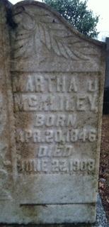 Martha J. <I>Vann</I> McAliley