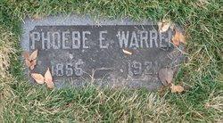 Phoebe Elizabeth <I>Layton</I> Warren