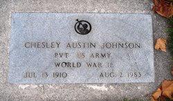 Chesley Austin Johnson