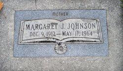 Margaret Ellen <I>Johnston</I> Johnson