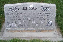 Agnes Etta <I>Summers</I> Johnson