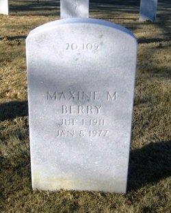 Maxine M Berry