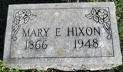 Mary Elizabeth <I>Schiele</I> Hixon