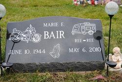 Marie E <I>Sheffer</I> Bair