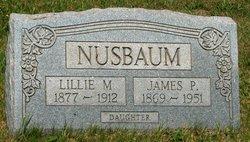 Lillie McAllen <I>Rosenberry</I> Nusbaum