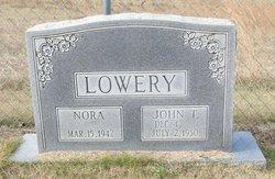 Nora <I>Reynolds</I> Lowery
