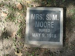 Mrs Sallie Maude <I>McCay</I> Moore
