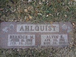 Bernice Marie <I>Lorenz</I> Ahlquist