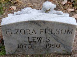 Elzora <I>Fulsom</I> Lewis