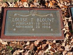 Louise T <I>Lyon</I> Blount