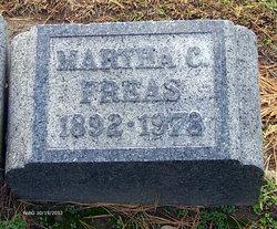 Martha C Freas