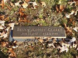 Belva <I>Massey</I> Clarke