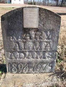 Mary Alma Adams