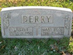 Willis F Berry