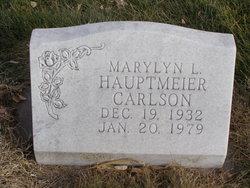 Marylyn L <I>Hauptmeier</I> Carlson
