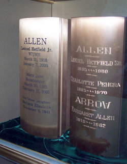 Margaret <I>Allen</I> Arrow