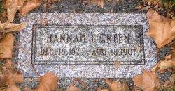 Hannah <I>Lambert</I> Green