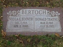 Donald Thayne Bertoch