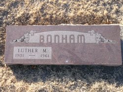 Luther M Bonham