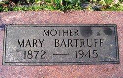 Mary Anna <I>Bauer</I> Bartruff