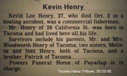 Kevin Lee Henry